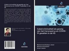 Bookcover of Cybercriminaliteit als gevolg van het Coronavirus en COVID-19 gevallen in de VS
