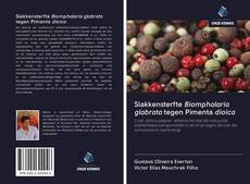 Capa do livro de Slakkensterfte Biomphalaria glabrata tegen Pimenta dioica