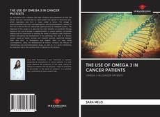 Capa do livro de THE USE OF OMEGA 3 IN CANCER PATIENTS