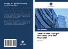 Обложка Qualität des Designs innerhalb von PFI-Projekten