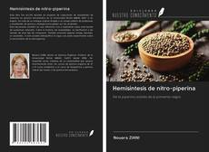 Bookcover of Hemisíntesis de nitro-piperina