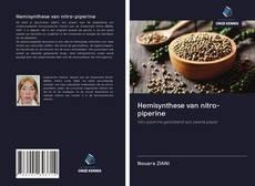 Bookcover of Hemisynthese van nitro-piperine