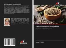 Buchcover von Emissintesi di nitropiperina