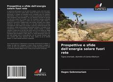 Prospettive e sfide dell'energia solare fuori rete kitap kapağı