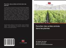 Bookcover of Fonction des acides aminés dans les plantes