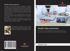 Buchcover von Health data protection