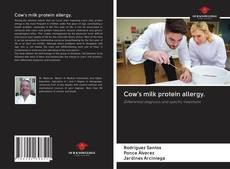 Bookcover of Cow's milk protein allergy.