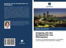 Buchcover von Umgang mit der Komplexität von Metropolen