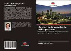 Capa do livro de Gestion de la complexité métropolitaine