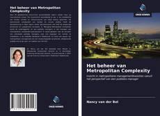 Portada del libro de Het beheer van Metropolitan Complexity