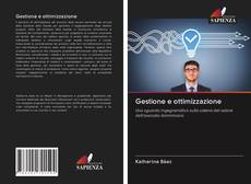 Buchcover von Gestione e ottimizzazione