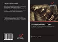Konceptualizacje ubóstwa kitap kapağı
