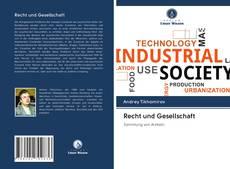 Recht und Gesellschaft kitap kapağı