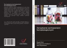 Buchcover von Zarządzanie zachowaniami farmakologicznymi