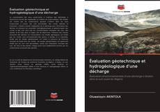 Portada del libro de Évaluation géotechnique et hydrogéologique d'une décharge