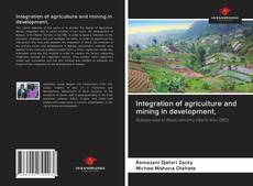 Buchcover von Integration of agriculture and mining in development,