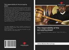 Couverture de The responsibility of the occupying power