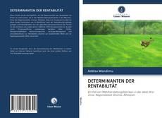 Buchcover von DETERMINANTEN DER RENTABILITÄT