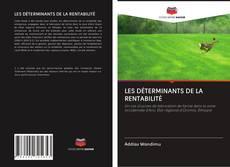 Capa do livro de LES DÉTERMINANTS DE LA RENTABILITÉ