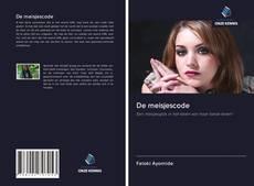 Bookcover of De meisjescode
