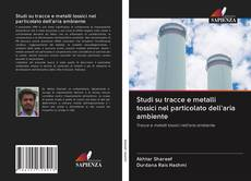 Copertina di Studi su tracce e metalli tossici nel particolato dell'aria ambiente