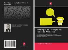 Capa do livro de Estratégias de Tradução em Filmes de Animação