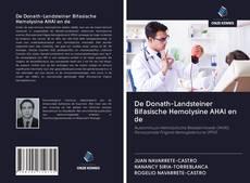 Bookcover of De Donath-Landsteiner Bifasische Hemolysine AHAI en de