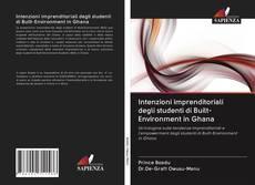 Copertina di Intenzioni imprenditoriali degli studenti di Built-Environment in Ghana