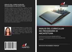Copertina di ANALISI DEL CURRICULUM DEI PROGRAMMI DI ARCHITETTURA