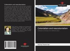 Capa do livro de Colonialism and neocolonialism