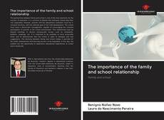 Buchcover von The importance of the family and school relationship