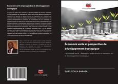 Économie verte et perspective de développement écologique kitap kapağı