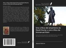 Обложка Una crítica del empirismo de David Hume y una crítica de Immanuel Kant