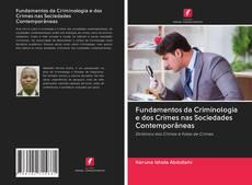Fundamentos da Criminologia e dos Crimes nas Sociedades Contemporâneas kitap kapağı