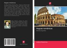 Capa do livro de línguas românicas