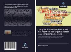 Couverture de Jacques Rousseau's theorie van het recht en de burgerlijke staat en de moslimdemocratie
