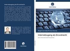 Capa do livro de Internetzugang als Grundrecht