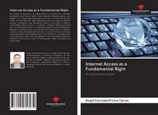 Capa do livro de Internet Access as a Fundamental Right