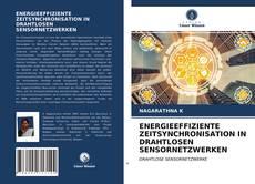 Buchcover von ENERGIEEFFIZIENTE ZEITSYNCHRONISATION IN DRAHTLOSEN SENSORNETZWERKEN