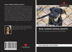 Capa do livro de NON-HUMAN ANIMAL RIGHTS: