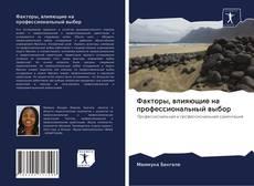 Bookcover of Факторы, влияющие на профессиональный выбор