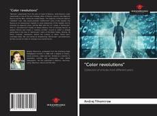 """Color revolutions"" kitap kapağı"