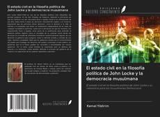 Portada del libro de El estado civil en la filosofía política de John Locke y la democracia musulmana