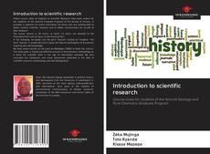 Buchcover von Introduction to scientific research