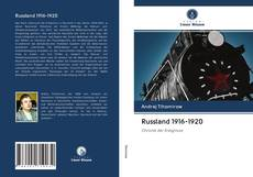 Bookcover of Russland 1916-1920