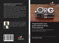 Capa do livro de Organizzazioni non governative di diritto internazionale