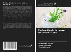 Обложка Evaluación de la nueva lactona bicíclica