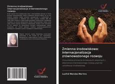 Обложка Zmienna środowiskowa: internacjonalizacja zrównoważonego rozwoju