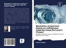 Динамика осадочных пород на побережье Сиди-Бу-Саид-Ла-Гулетт (Тунис) kitap kapağı