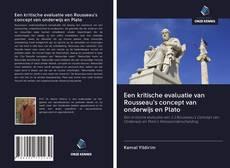 Обложка Een kritische evaluatie van Rousseau's concept van onderwijs en Plato